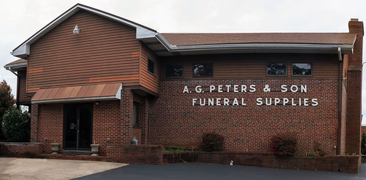 AG Peters & Son Family Owned Funeral Equipment Supplier NJ